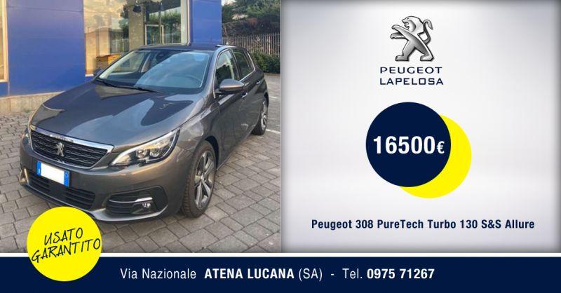 PEUGEOT LAPELOSA SRL - Peugeot 308 PureTech Turbo 130 S&S Allure Atena Lucana Salerno