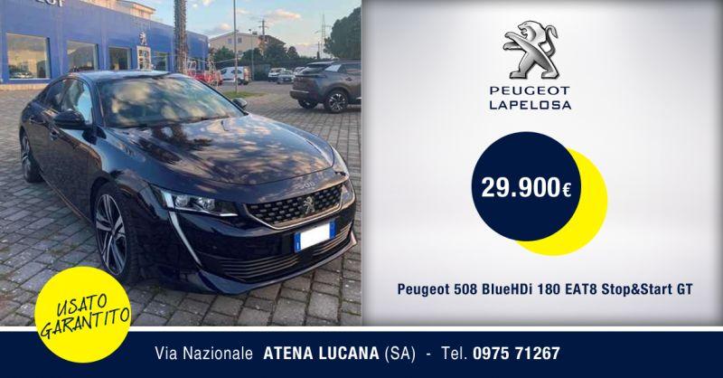 SRL PEUGEOT LAPELOSA - Offerta Peugeot 508 BlueHDi 180 EAT8 Atena Lucana