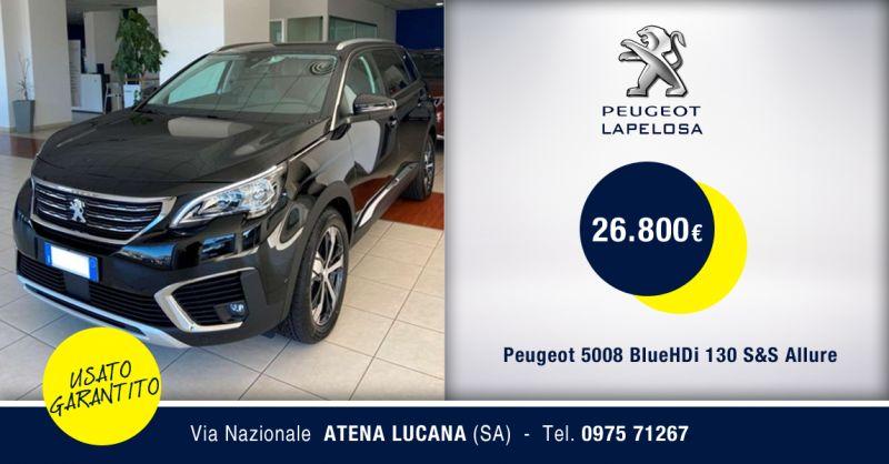PEUGEOT LAPELOSA SRL - Offerta Peugeot 5008 BlueHDi 130 S&S Allure Atena Lucana