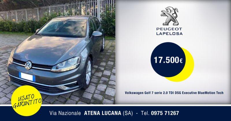 PEUGEOT LAPELOSA - Volkswagen Golf 7 serie 2.0 TDI Atena Lucana