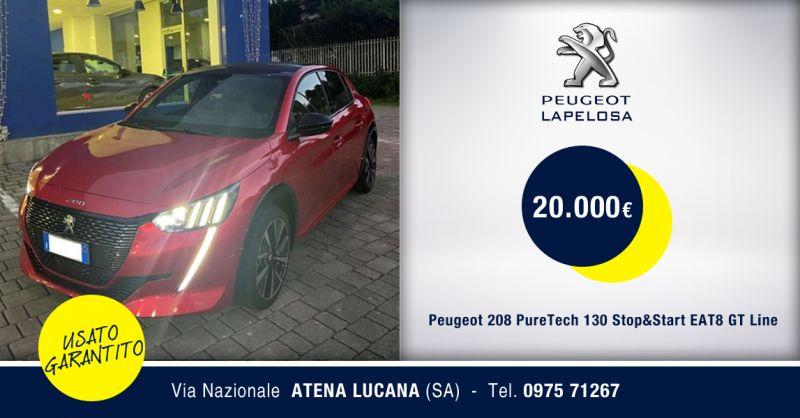 PEUGEOT LAPELOSA - Peugeot 208 PureTech 5 porte GT Line Atena Lucana