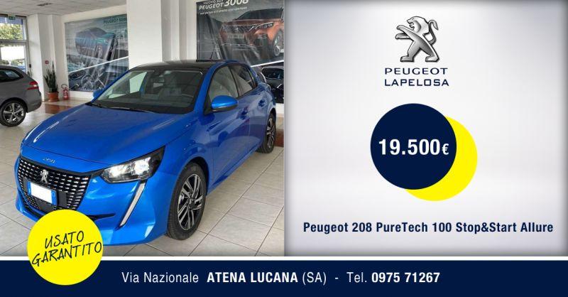 PEUGEOT LAPELOSA SRL - Offerta Peugeot 208 PureTech 5 porte Allure Km0