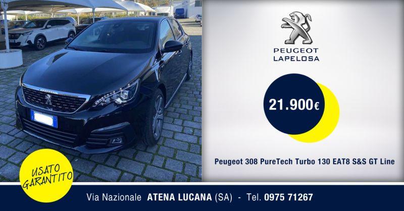 PEUGEOT LA PELOSA - Offerta Peugeot 308 PureTech Turbo 130 EAT8 S&S GT Usato Atena Lucana