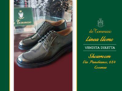 offerta calzature artigianali uomo promozione nuove calzature uomo de tommaso calzature