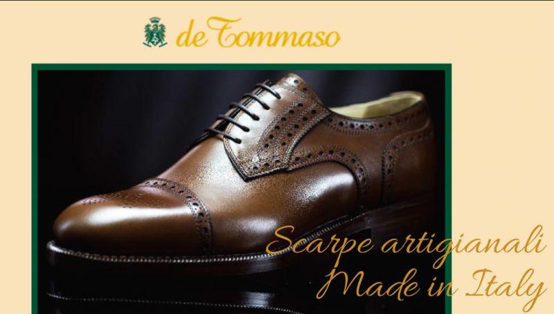 De tommaso offerta scarpe artigianali cosenza - promozione calzature made in italy cosenza