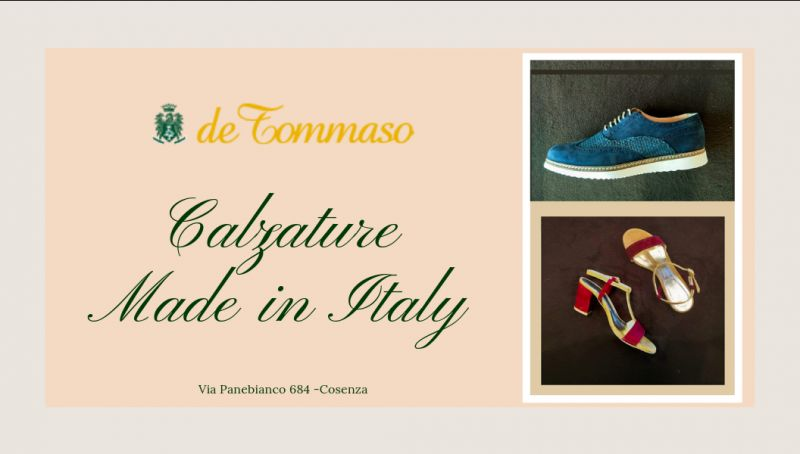 De Tommaso offerta calzature in pelle cosenza - promozione scarpe in pelle rende