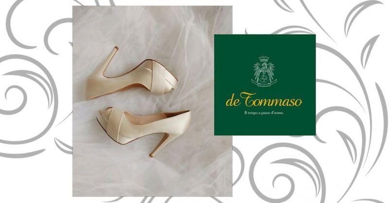 Offerta scarpe sposa artigianali cosenza - promozione scarpe da sposa su misura