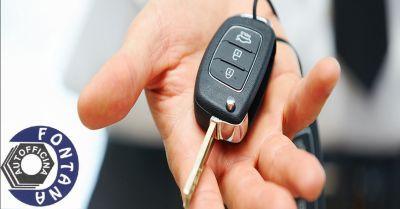 offerta ricostruzione chiavi auto smarrite occasione ripristino telecomandi di automobili