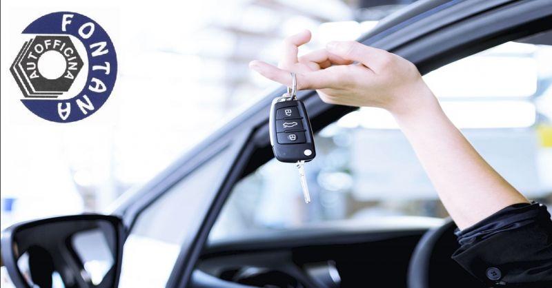 AUTOFFICINA FONTANA offerta sostituzione chiave auto - occasione riproduzione telecomandi auto