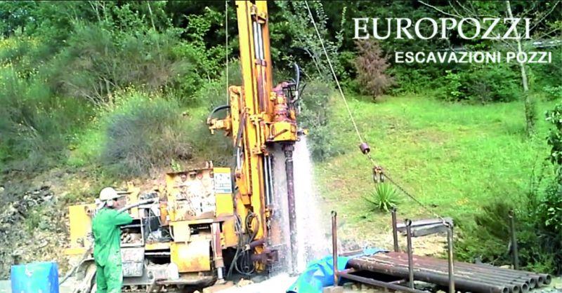 Europozzi offerta realizzazione pozzi - occasione manutenzione pozzi