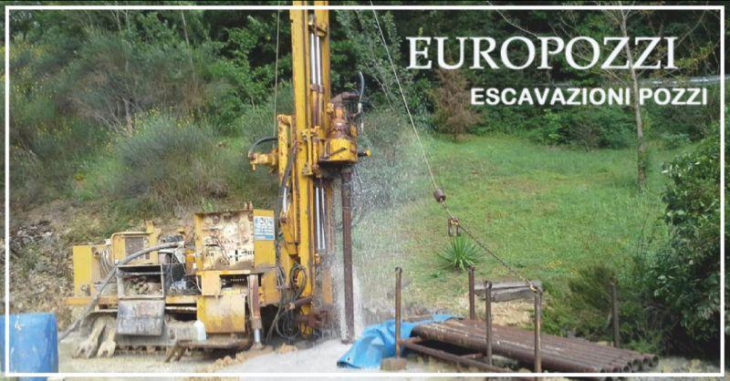 europozzi offerta trivellazioni - occasione escavazione pozzi perugia