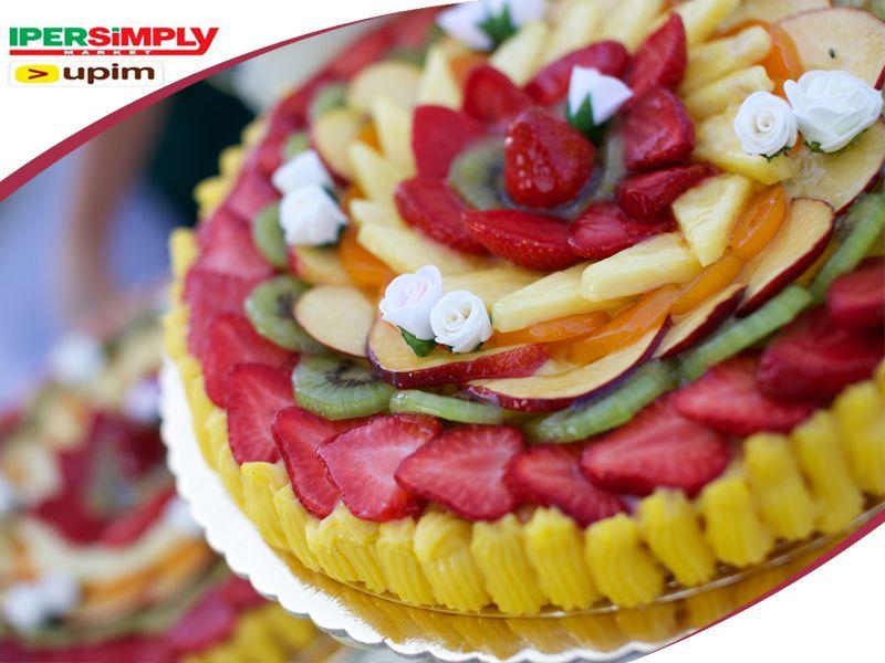 Offerta realizzazione torte con frutta fresca al supermercato - IperSimply