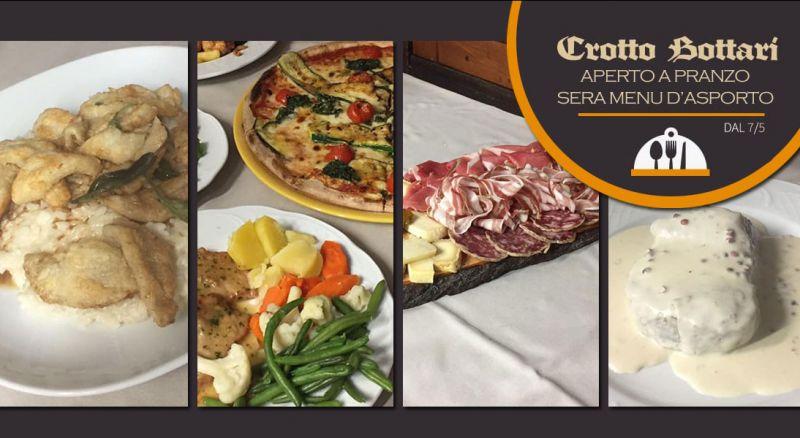 RISTORANTE PIZZERIA CROTTO BOTTARI - OFFERTA ristorante pizzeria con SERVIZIO D'ASPORTO CARLAZZO COmo