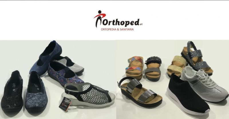 ORTHOPED - Offerta vendita calzature ortopediche estive su misura Udine