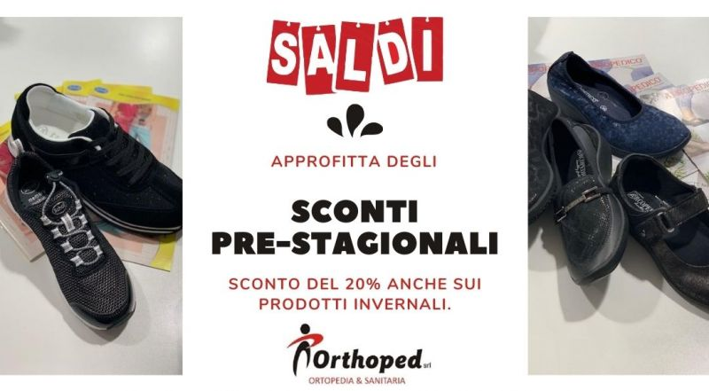 Offerta sconti pre stagionali su calzature a Udine – offerta prodotti invernali ortopedici scontati a Udine