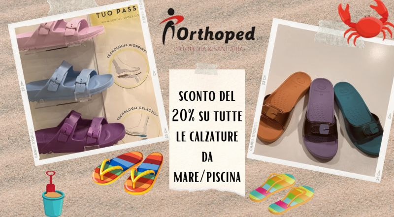 Offerta calzature mare e piscina scontate a Udine – vendita ciabatte in plastica stile birkenstock scontate a Udine