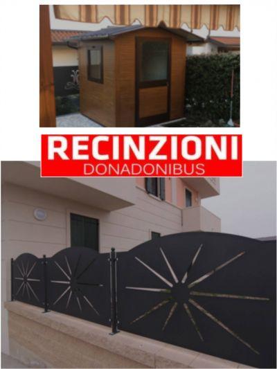 offerta recinzioni cancelli ringhiere casette darredo promozione architetti per per orto