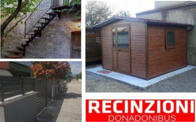 offerta casette giardino e recinzioni occasione ringhiere cancelli recinzioni