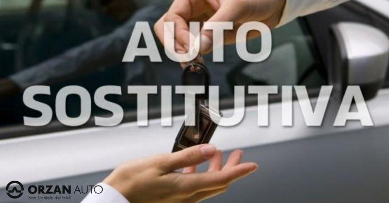 Orzan Auto offerta riparazione auto - occasione servizio autovettura sostitutiva Udine