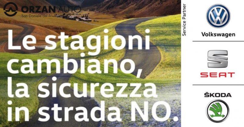 Orzan auto occasione vendita pneumatici invernali - offerta cambio gomme autovettura Udine