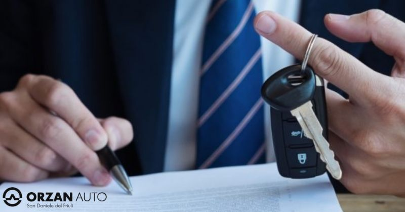 Orzan auto offerta finanziamento per auto - occasione leasing macchina San Daniele del Fruili