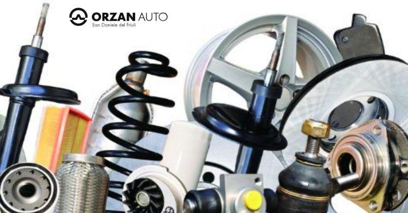 Orzan Auto offerta vendita pezzi di ricambio auto - occasione autoricambi vettura Udine