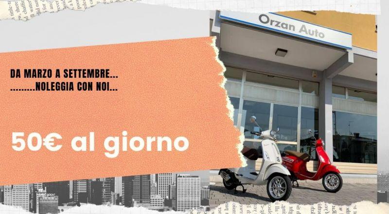 Occasione noleggio vespa a Udine – Offerta noleggio giornaliero di vespa 125 a Udine