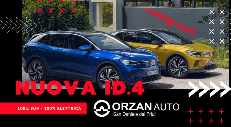 Occasione nuova ID.4 in vendita a Udine – Vendita nuovo suv Volkswagen elettrico a Udine