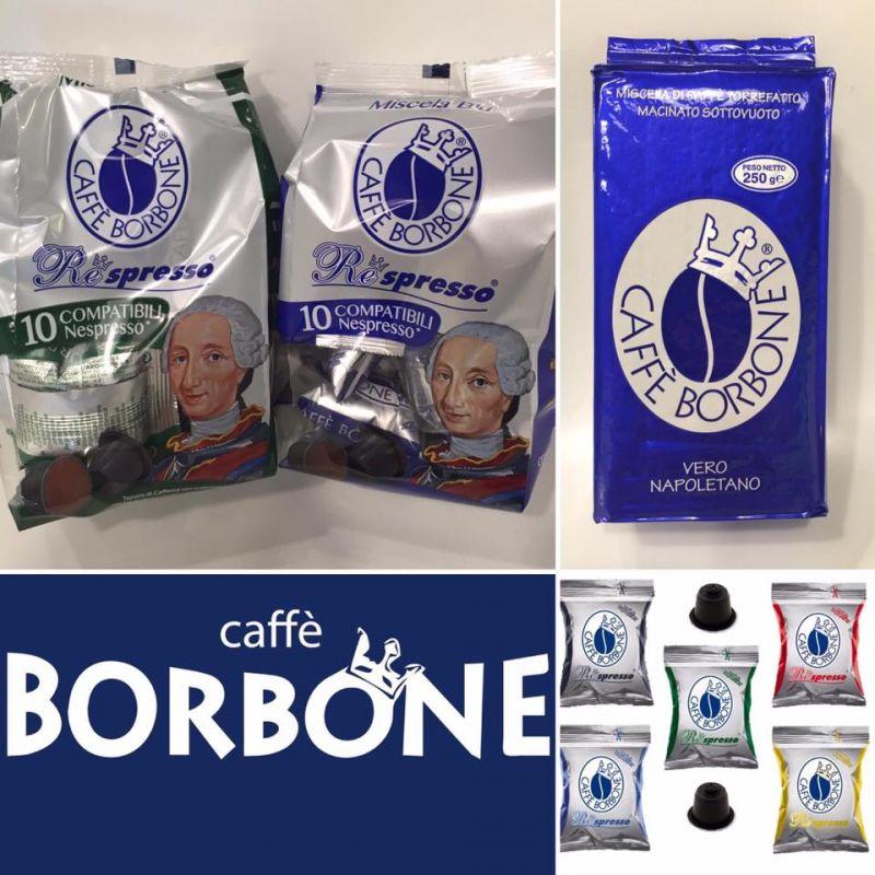 Offerta vendita caffè cremoso - Promozione miscela caffè Borbone in cialde e grani Verona
