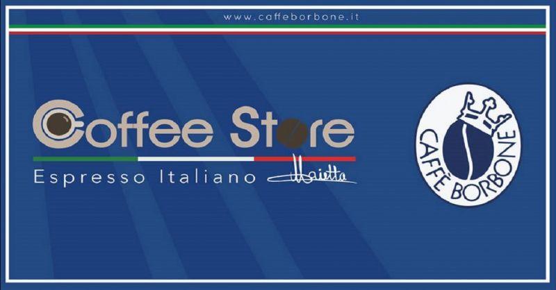 COFFEE STORE offerta rivenditore ufficiale caffe Borbone - occasione vendita caffe Borbone