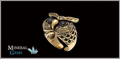 promozione anello ottone oro 24kt bari promozione gioielli fatti a mano corato mineral gems