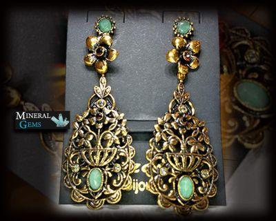 offerta vendita online orecchini pendenti con smeraldo promozione gioielli personalizzati bari