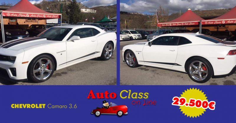 AUTO CLASS offerta chevrolet camaro usata - occasione auto chevrolet coupe sportiva usata