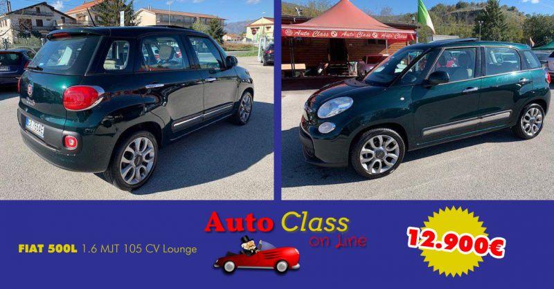 AUTO CLASS offerta FIAT 500L 1.6 usata atena lucana salerno