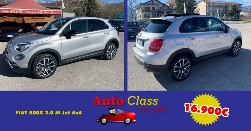 AUTOCLASS - Offerta FIAT 500X 2.0 M Jet 4x4 AT9 Cross Plus usato Atena Lucana