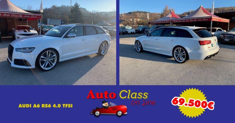 AUTO CLASS SALERNO - Offerta Vendita AUDI A6 RS6 4.0 700cv Usato Atena Lucana