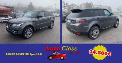 auto class salerno offerta range rover rr sport 3 0 vendita usato atena lucana