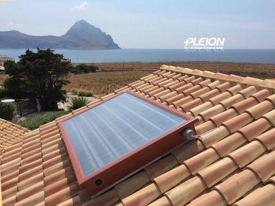 offerta vendita pannello solare termico estetico pleion san vito dei normanni termosanitaria