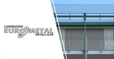 eurometal offerta produzione vendita coperture tettoie in metallo salerno