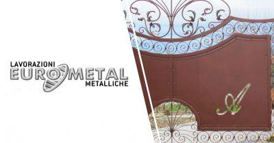 eurometal offerta produzione vendita cancelli automatizzati salerno