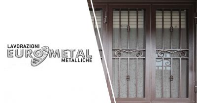 eurometal offerta produzione vendita grate antieffrazione salerno