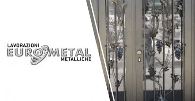 eurometal offerta produzione lavorazioni artigianali in ferro salerno
