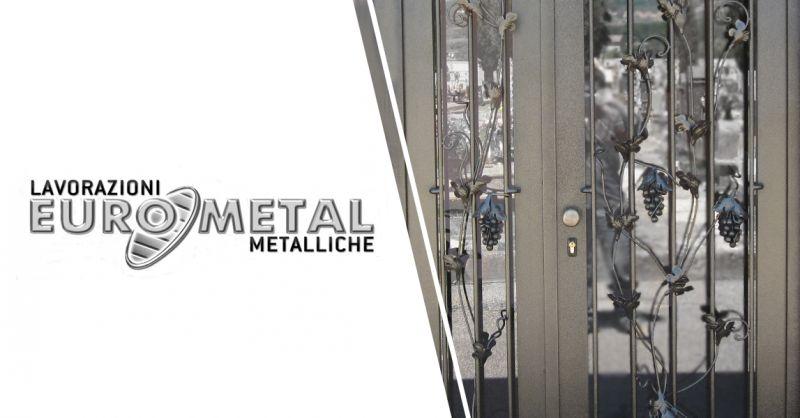 EUROMETAL - offerta Produzione Lavorazioni Artigianali in Ferro Salerno