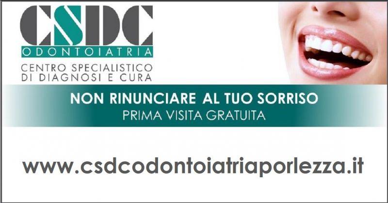 CSDC ODONTOIATRIA - Angebot von einer kostenlosen Untersuchung im Porlezza Zahnarztzentrum