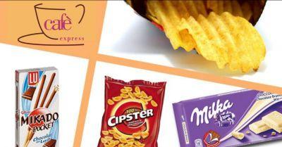 cafe exspress offerta distribuzione snack occasione prodotti distributori automatici vittoria