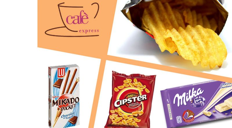 Cafe Exspress offerta distribuzione snack - occasione prodotti distributori automatici Vittoria
