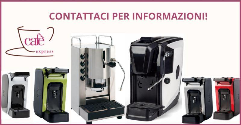 CAFE EXPRESS - offerta vendita macchine per il caffe espresso in cialde ragusa