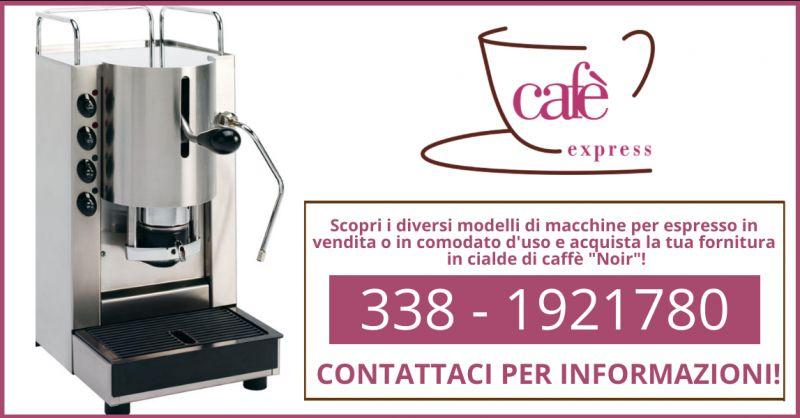offerta vendita cialde caffe noir ragusa - occasione macchine da caffe in comodato d uso ragusa