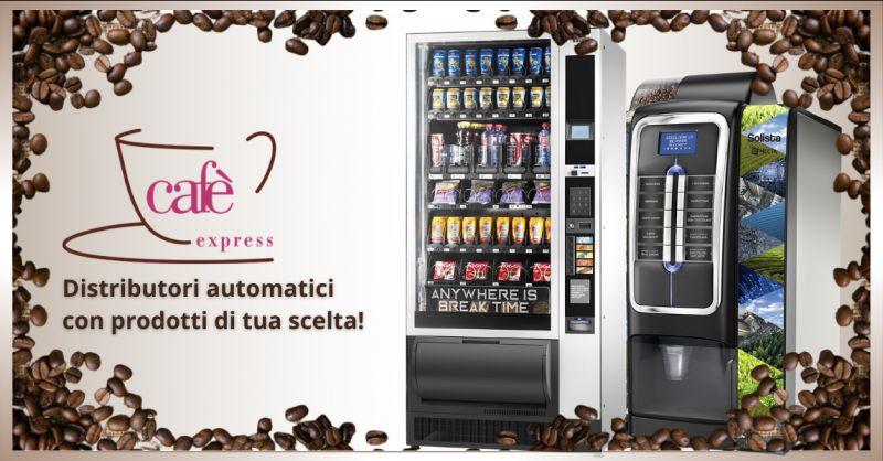 CAFE EXPRESS - offerta servizio noleggio distributori automatici ragusa