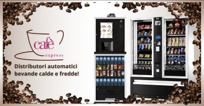 cafe express offerta ditta distributori automatici bevande ragusa